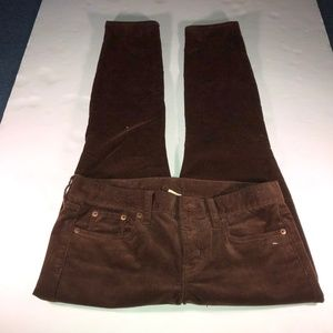 "J CREW Dress Pants Size 28"" Womens Brown"
